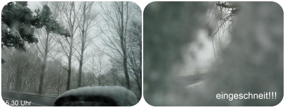 20-März ~Frühingsanfang~es hat wieder sehr stark geschneit!!!