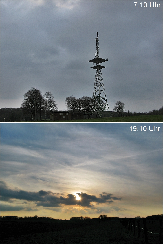 13- April erst noch regnerisch und dann wurde es doch noch schön!