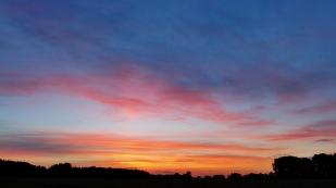 26-Mai wieder ein wunderschöner Sonnenaufgang