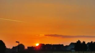 16-Mai Sonnenaufgang -Wiedenbrück