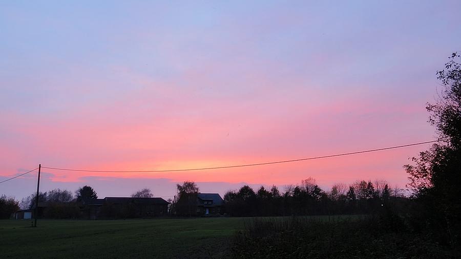 6-November Sonnenuntergang  * home*