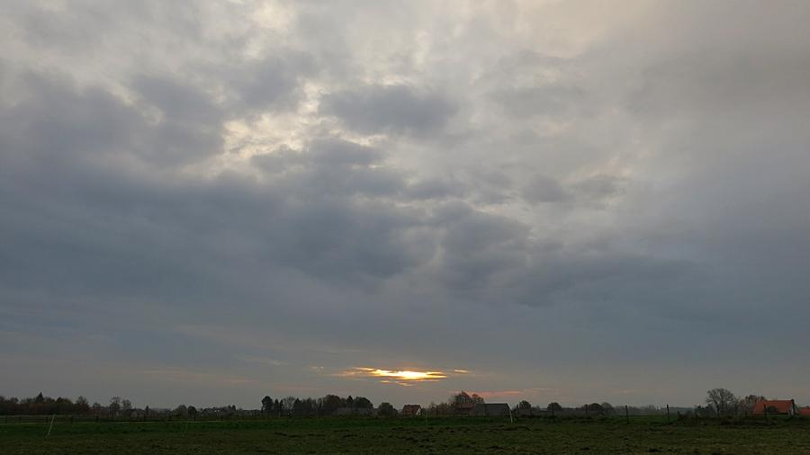 15-November Blick auf WD , morgens
