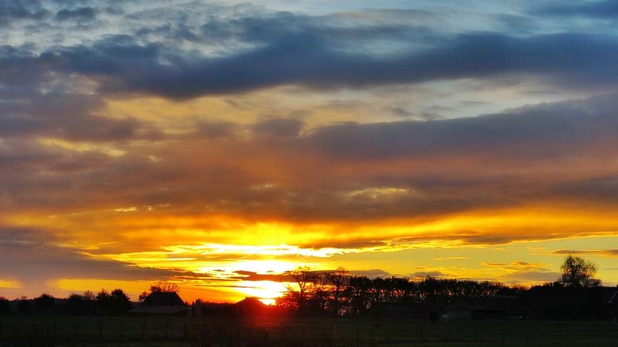 17-November ein toller Sonnenaufgang