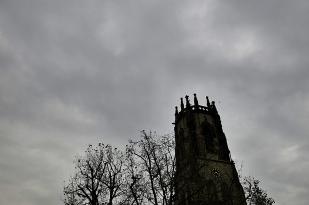 Freitag, der 13! ein ganz grauer Tag, später Sturm & Regen