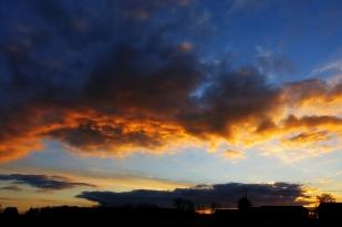 12-Februar die Sonne geht unter *home*